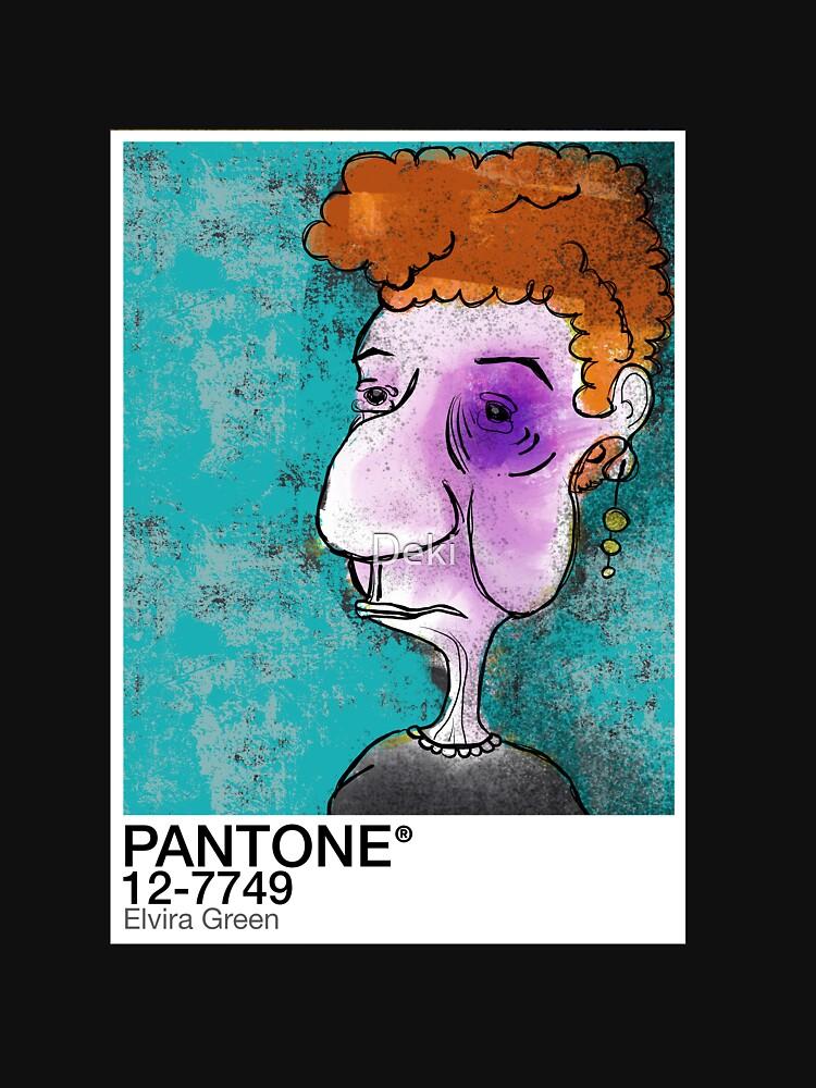 PANTONE - Elvira Green by Deki