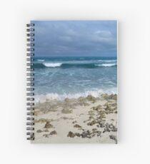 Winter Waves Spiral Notebook