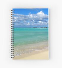Breezy Day at Gillam Bay  Spiral Notebook