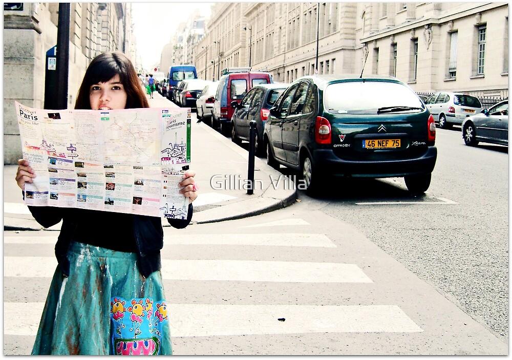 Lost In Paris by Gillian Villa