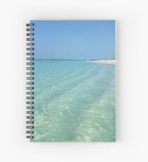 Waves of Sand - Bita Bay  Spiral Notebook