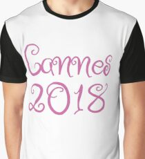 #Cannes2018 Graphic T-Shirt