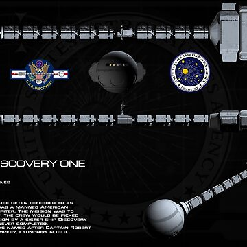 2001: A Space Odyssey -- Discovery One by Xcess