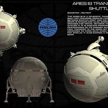 2001: A Space Odyssey -- Aries IB by Xcess