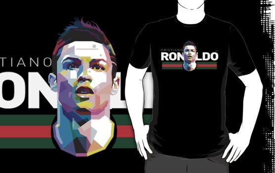 Cristiano Ronaldo Prism White