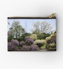 The Wisteria Garden at Longwood Studio Pouch