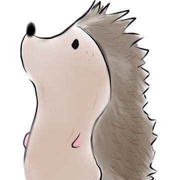 Hedgehog by GrayCoffee