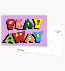 NDVH Play Away Postcards