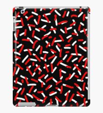 Brush Confetti Red iPad Case/Skin