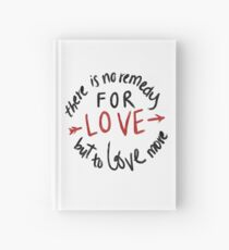 The cure for love Hardcover Journal