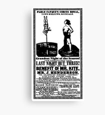 For The Benefit Of Mr Kite Poster! Canvas Print