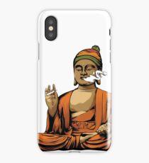 Buddha Smoking a Blunt iPhone Case/Skin