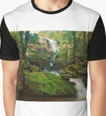 Rina Dina Falls, Walls of Jerusalem Graphic T-Shirt