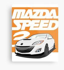 Mazdaspeed 3  Metal Print