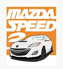 Mazdaspeed 3  Photographic Print
