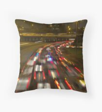 Evening chaos Throw Pillow
