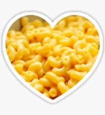 Macaroni Heart - Great For Food Lover Sticker