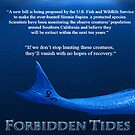 Forbidden Tides Quote Poster by KylaStanAuthor