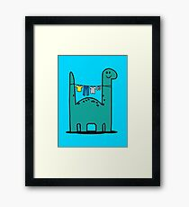 Washinglineasaurus Framed Print