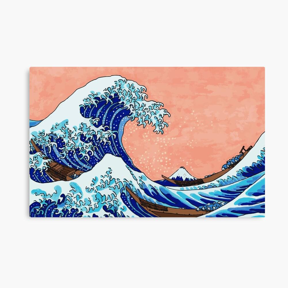 Die große Welle von Kanagawa Leinwanddruck