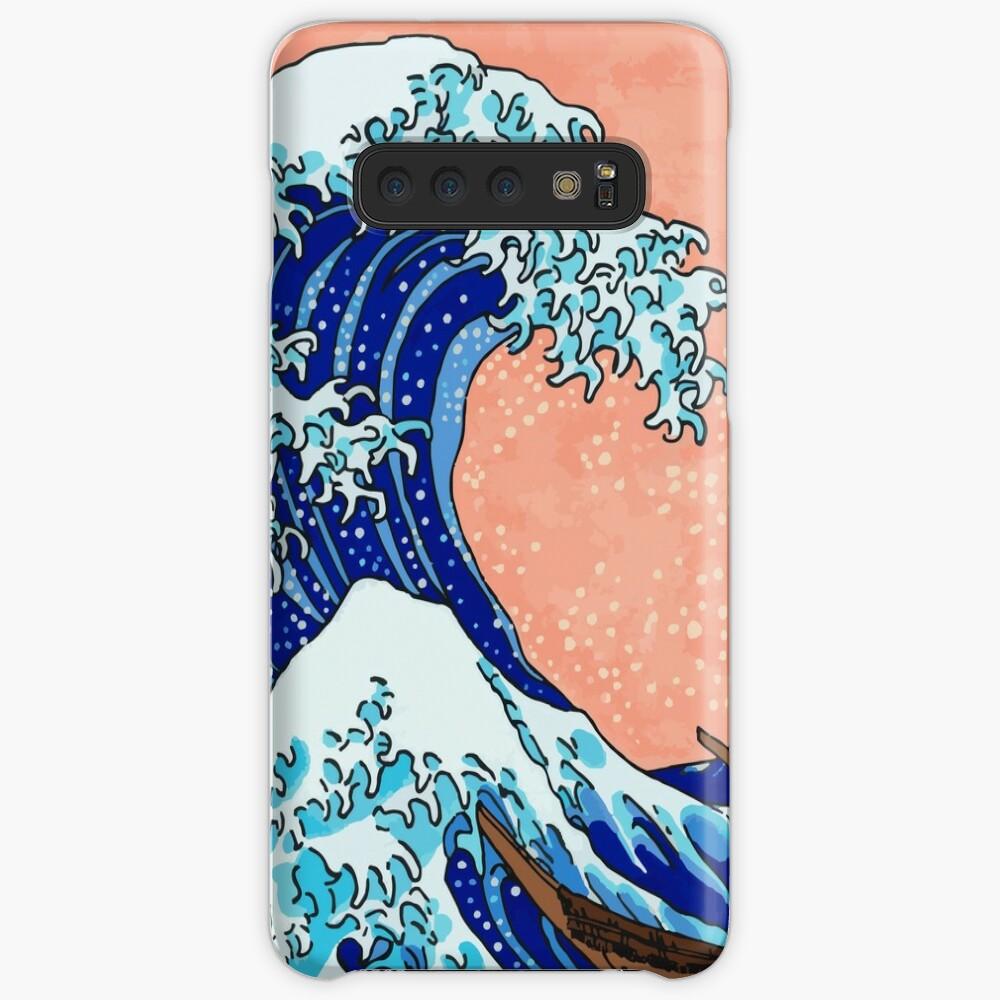 Die große Welle von Kanagawa Hülle & Klebefolie für Samsung Galaxy