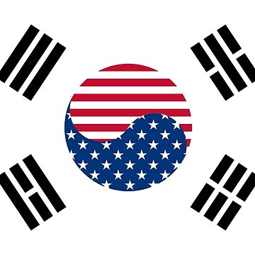 Korean American Flag by jkim31