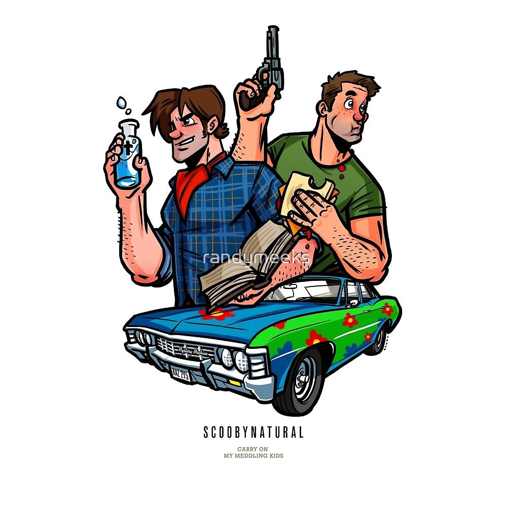 Meddling Kids: Dean and Sammy by randymeeks