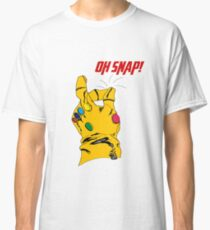 """Thanos Infinity Gauntlet """"Oh Snap!"""" Classic T-Shirt"""