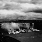 Niagara - Small Falls by Gracey