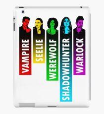 The Shadow World in Rainbow - White iPad Case/Skin