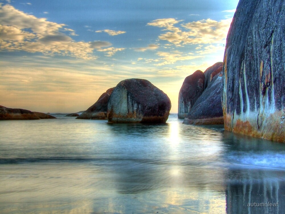 Elephant Cove - Williams Bay - Beauty at sunset by autumnleaf