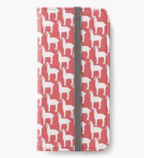 Loco Lama  iPhone Flip-Case/Hülle/Skin