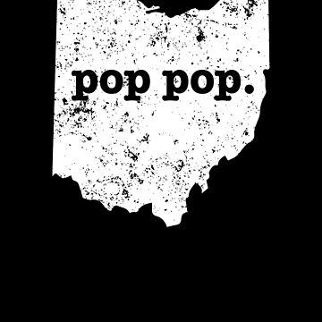 Pop Pop Ohio Shirt Grandfather by shoppzee