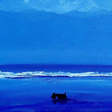 Scottie Dog 'Blue' by archyscottie