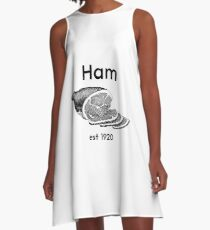 Ham! Not just for Canadians A-Line Dress