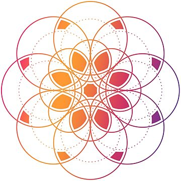 Sacred geometry element by SomStock