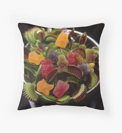 Jelly Baby Junglism #2 Throw Pillow