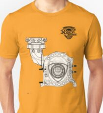 Mazda Rotary Engine Blueprint for Power 13B Unisex T-Shirt