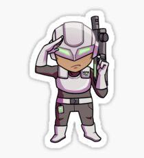 HPA Soldier # 7482 Sticker