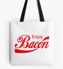 Enjoy BACON Tote Bag
