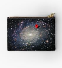 YOU ARE HERE, space science gps universe - Phone Case, Shirts, Hoodies & Stickers Studio Pouch