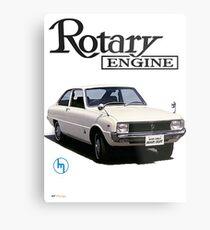 Mazda R10, R100 Rotary Engine Classic Metal Print
