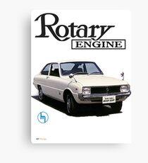 Mazda R10, R100 Rotary Engine Classic Canvas Print