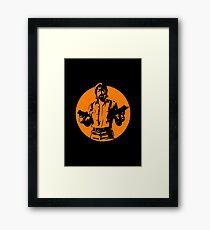 Chuck Norris Framed Print
