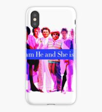I am He and She is Me iPhone Case