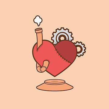 Steampunk Heart - Apotheosis of a Sigh by Reinheit
