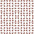 Rainbow Ganesha Pattern (White) by Diego-t