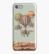 Flight of the Elephants iPhone Case/Skin