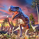 T-Rex_Attack by David Penfound