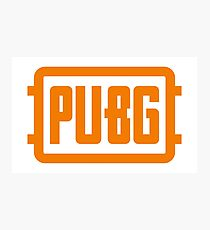 Pubg Gold Logo Artwork Photographic Print